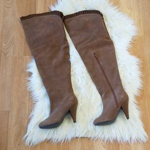 House of harlow thigh high boots